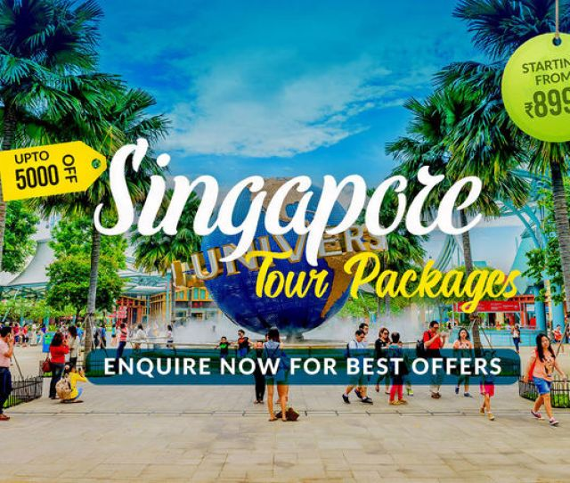 Best Offers On Singapore Tour Packages Enquire Now