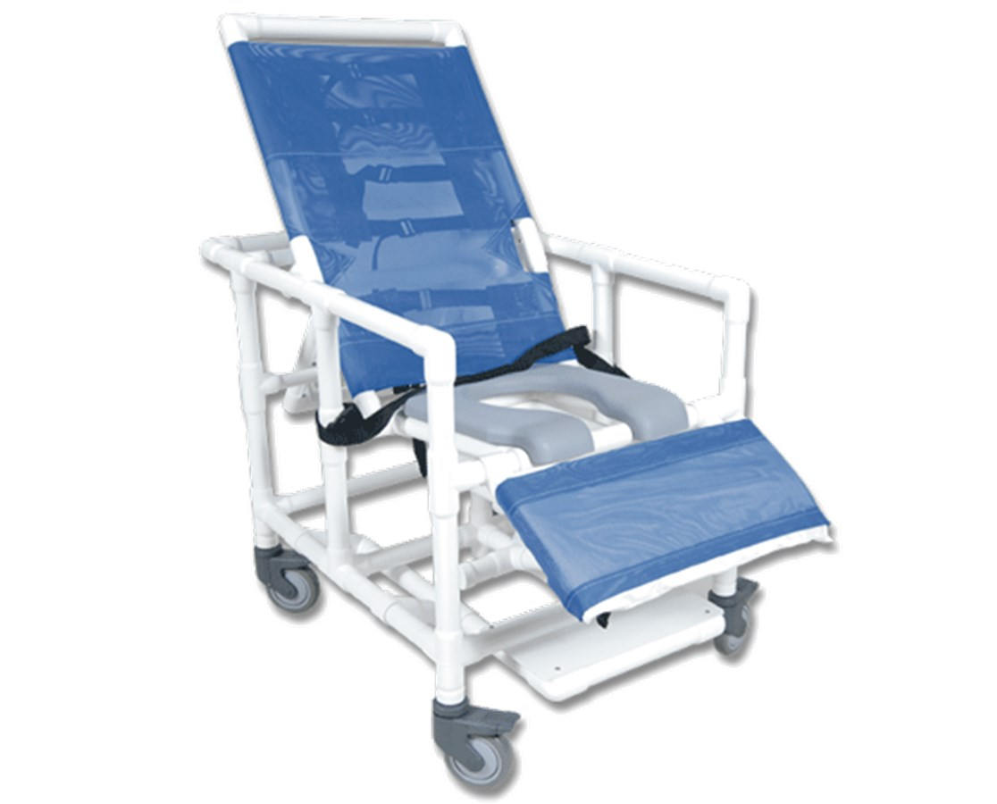 Pvc Shower Chair Healthline Bariatric Reclining Shower Chair Free