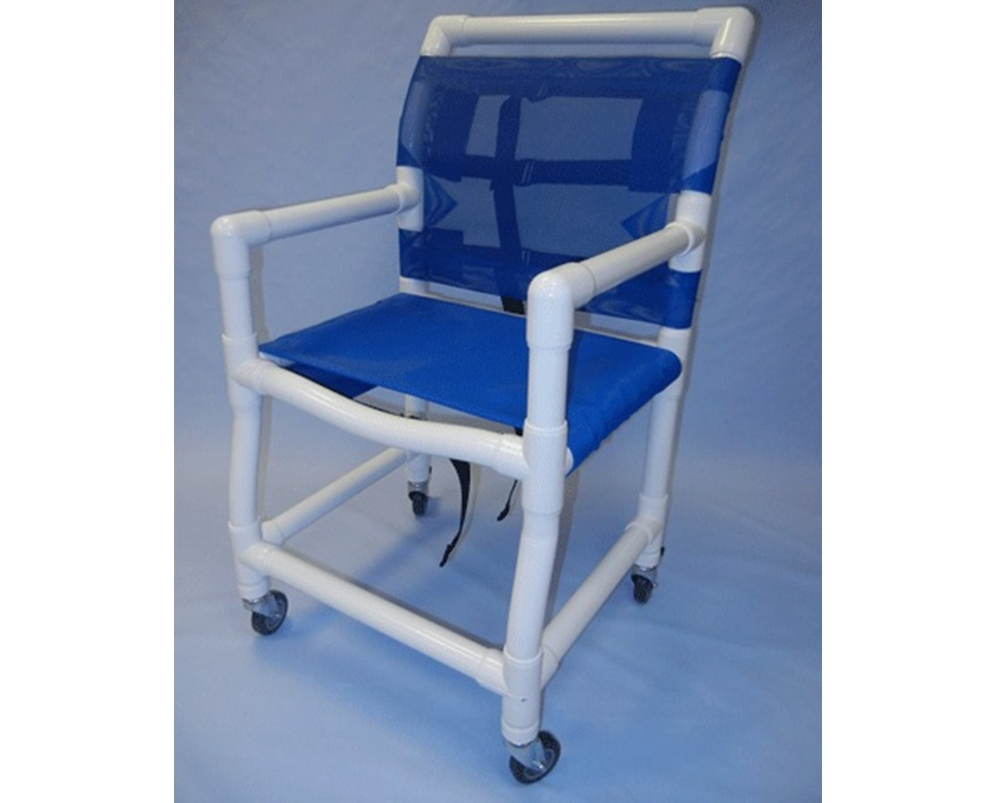 pvc commode chair ethan allen adam healthline shower sling seat free shipping