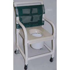 Rolling Bath Chair Cowhide Dining Room Chairs Healthline Pvc Shower Free Shipping Tiger Medical Inc