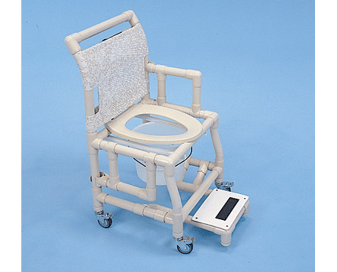 Shower Commode Chair Shower Chair 18 Quot Commode Seat And Footrest Free Shipping