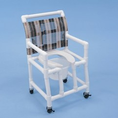 Pvc Commode Chair Antique Lawn Chairs Healthline Shower Open Front Seat Free