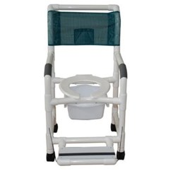 Pvc Commode Chair Baby Bath Chairs Asda Mjm Shower Save At Tiger Medical Inc