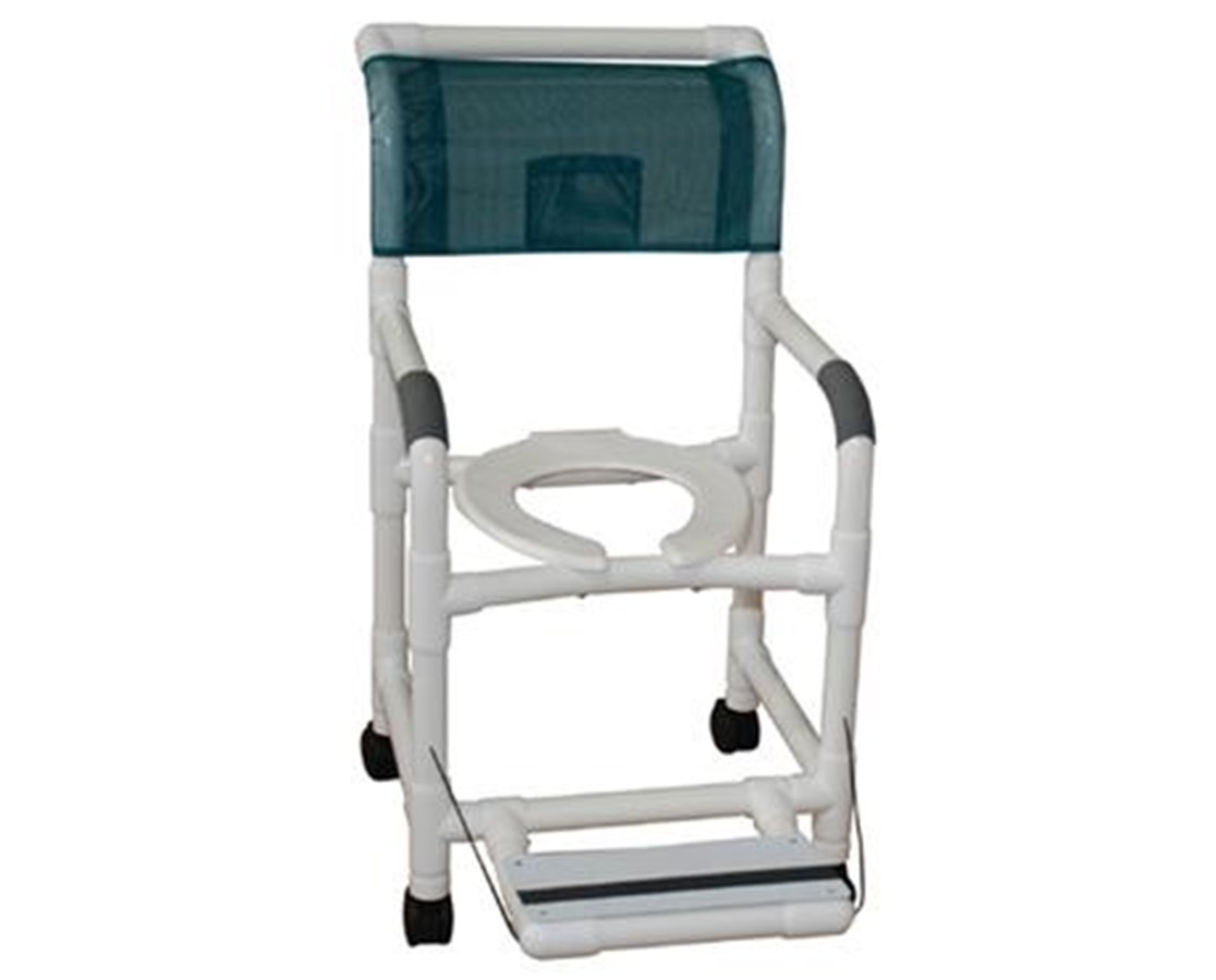 pvc commode chair fishing bed dimensions mjm shower save at tiger medical inc