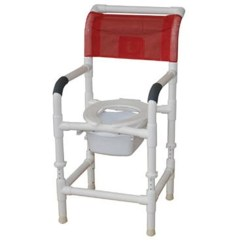 Pvc Commode Chair Desk Target Mjm Stationary Shower With Folding Save At Tiger