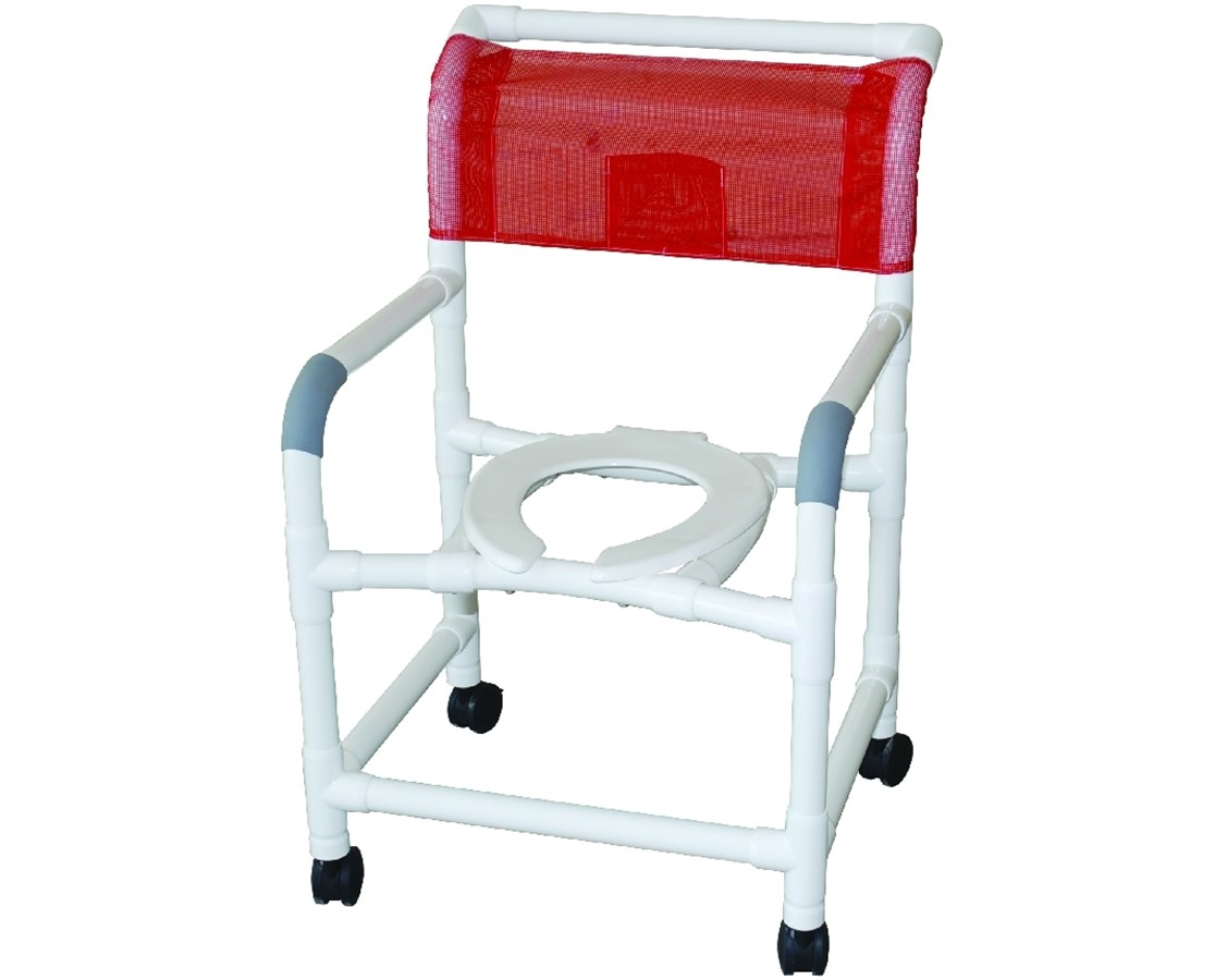Pvc Shower Chair Pvc Wide Commode Shower Chair Save At Tiger Medical Inc