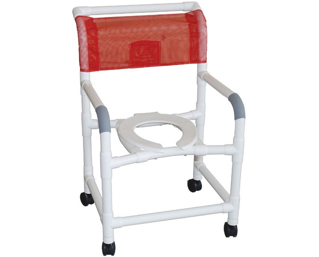 pvc commode chair desk chairs on sale mjm 22 quot wide shower with heavy save at tiger