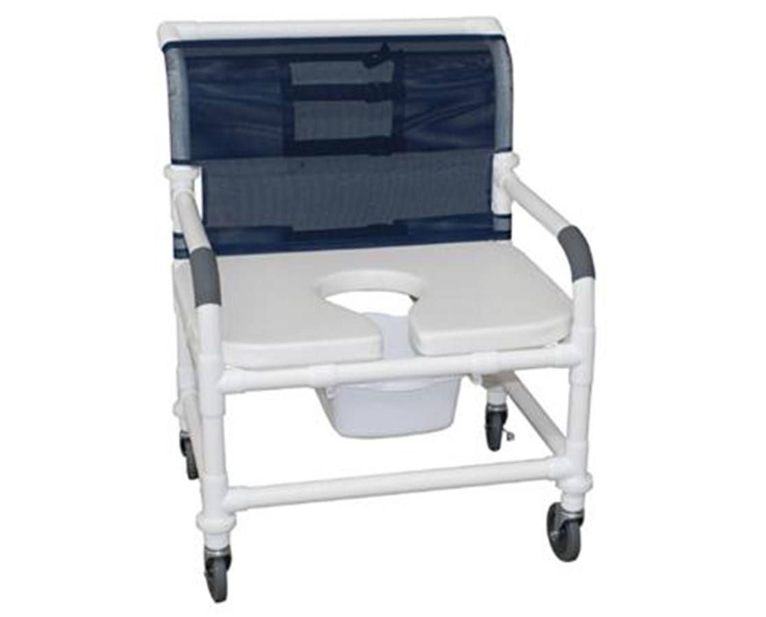 shower chair commode sofa bed chairs mjm 26 quot wide soft seat save at