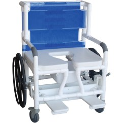 Bariatric Transport Chair 500 Lbs Spring Motion Patio Chairs Mjm Self Propelled Aquatic Rehab Shower Save At Tiger