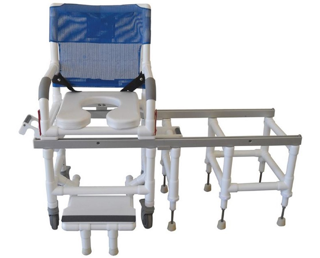 transfer shower chair bedroom pod mjm deluxe dual commode and save at
