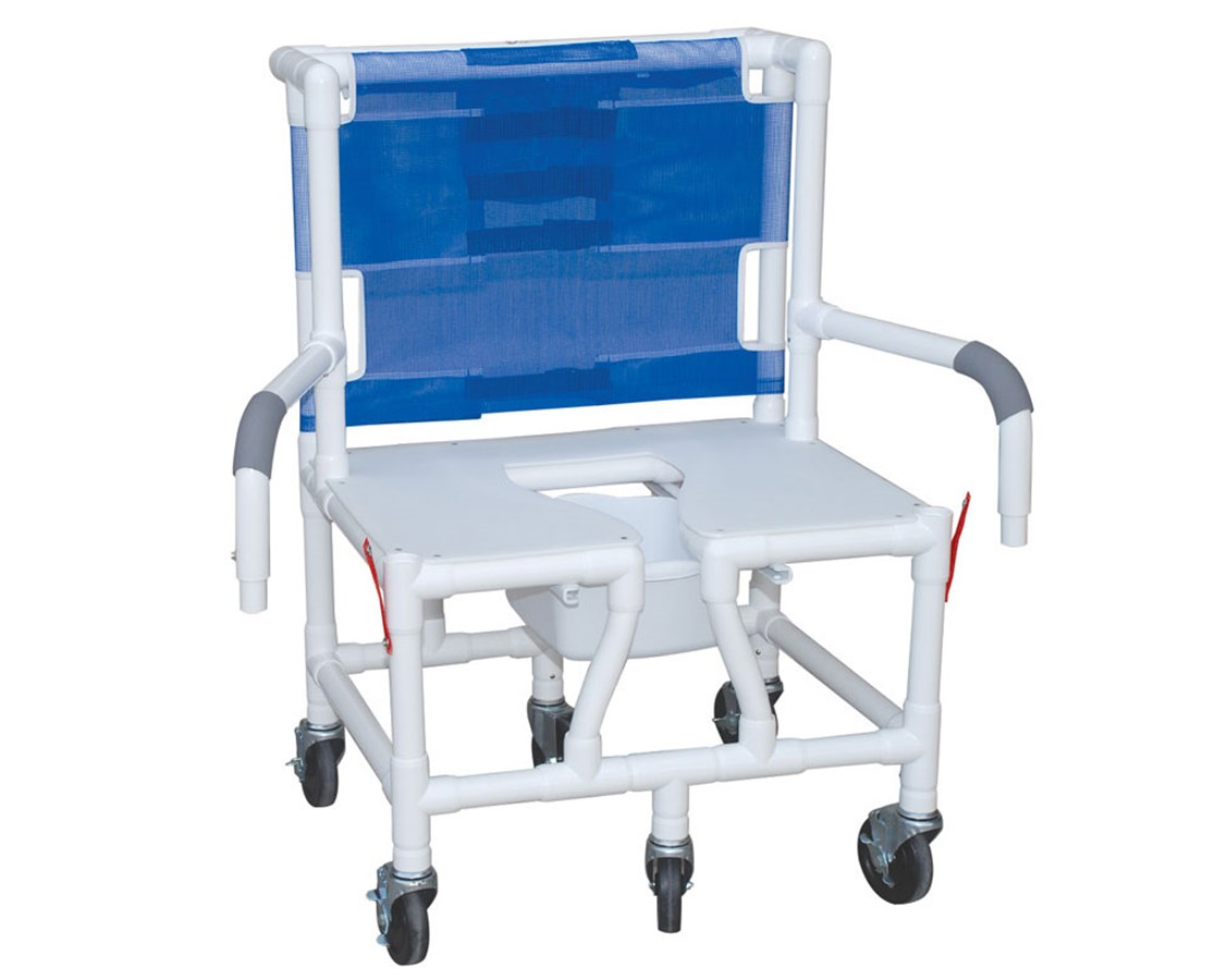 Shower Chair With Wheels Mjm 26 Quot Bariatric Shower Chair With Double Save At Tiger