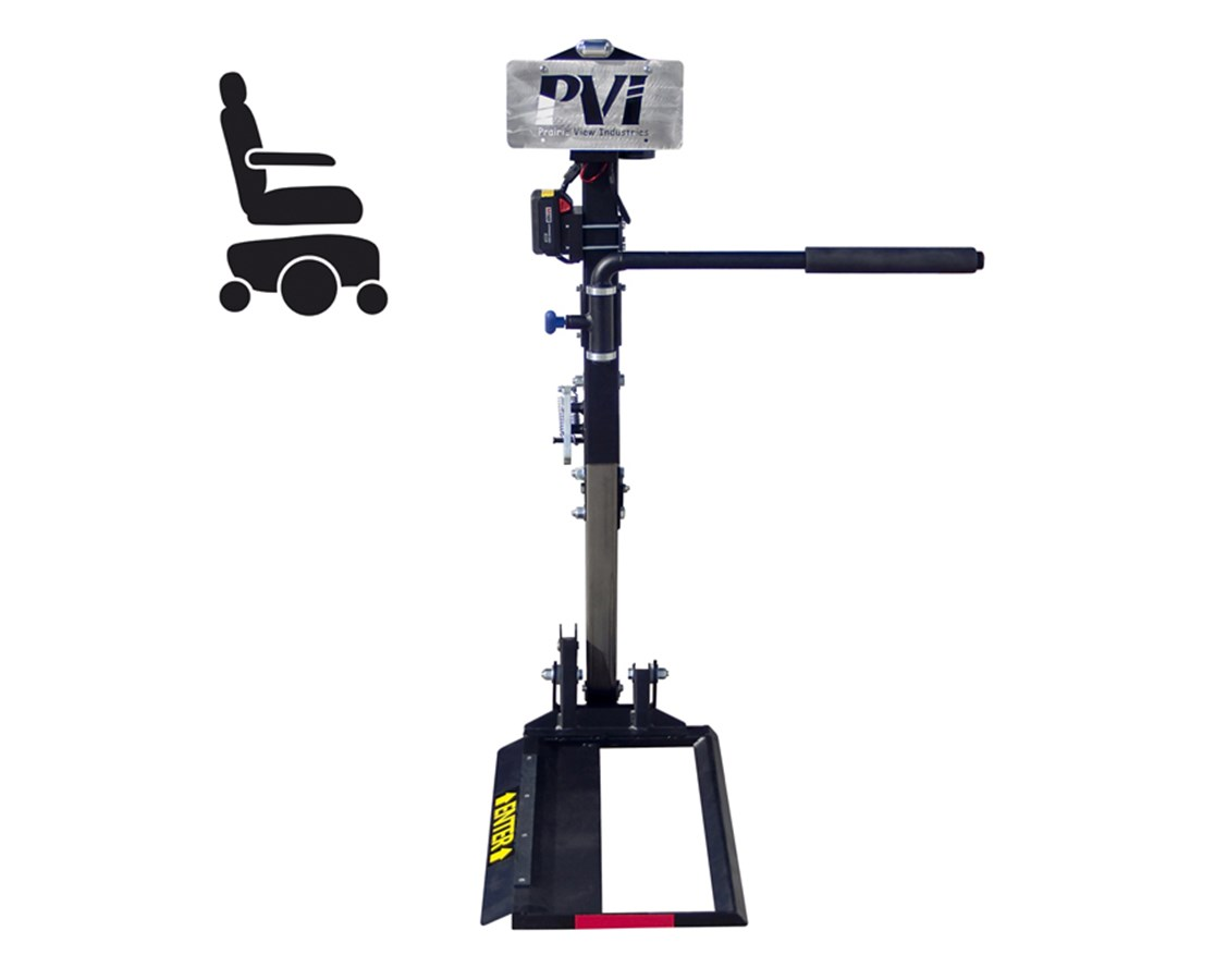 vehicle lifts for power wheelchairs carter brothers scoop chair pvi inde3 independence compact auto wheelchair