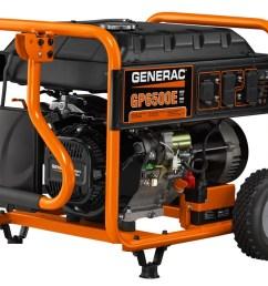 generac gp6500e portable generator [ 1116 x 900 Pixel ]