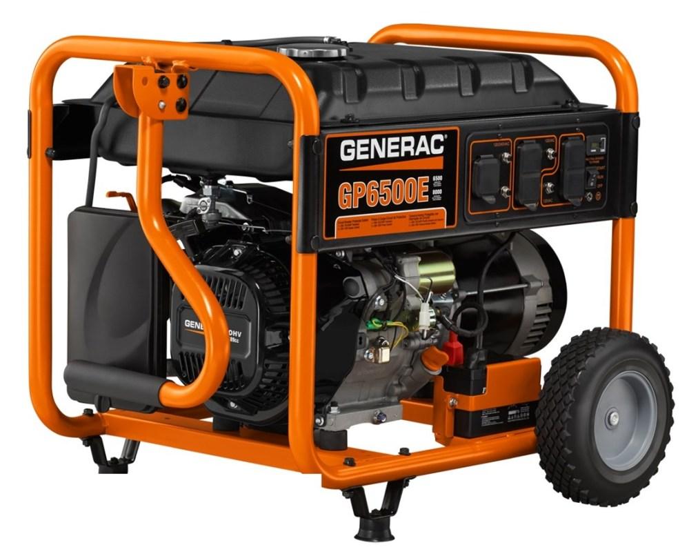medium resolution of generac gp6500e portable generator