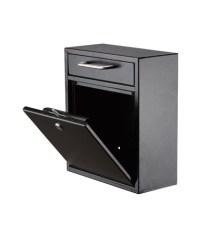 AdirOffice Ultimate Drop Box Wall Mounted Mail Box - Tiger ...