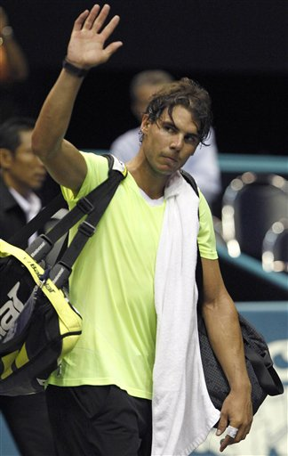 Nadal upset by Garcia-Lopez in Thailand Open semis