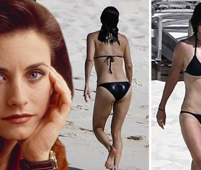 Courteney Cox In A Bikini 50 And Dead Sexy Celebrity Videos Tmz Com