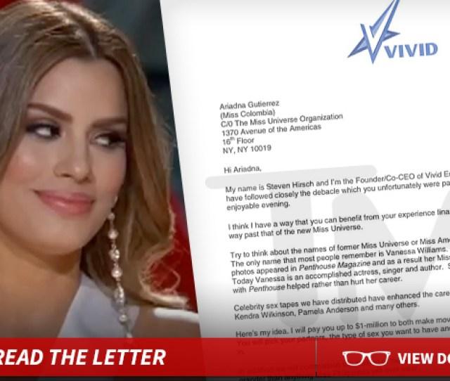 Miss Colombia Mega Porn Offer Choose Your Sex Partner And Make A Million