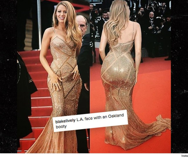 Blake Lively Has Pissed Off The Black Community In A Big Way By Captioning This Pic That She Now Has An Oakland Booty