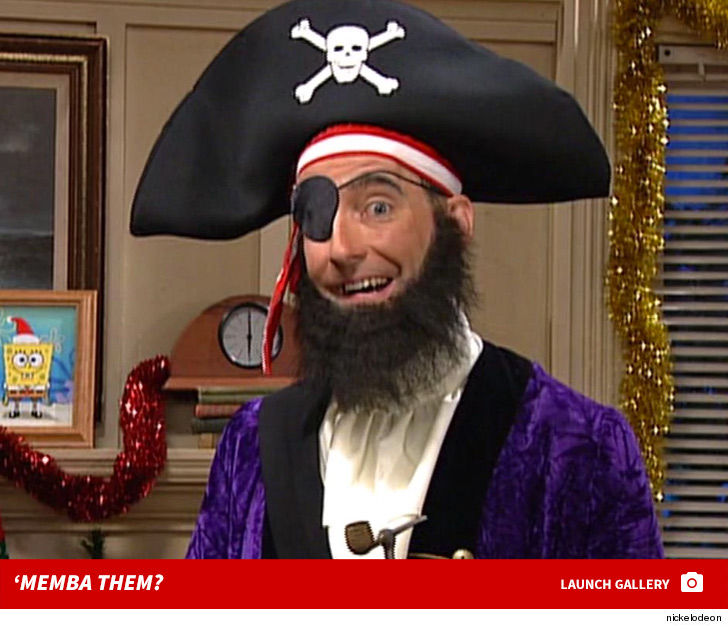 Patchy the Pirate on 'Spongebob Squarepants' 'Memba Him?! | TMZ.com