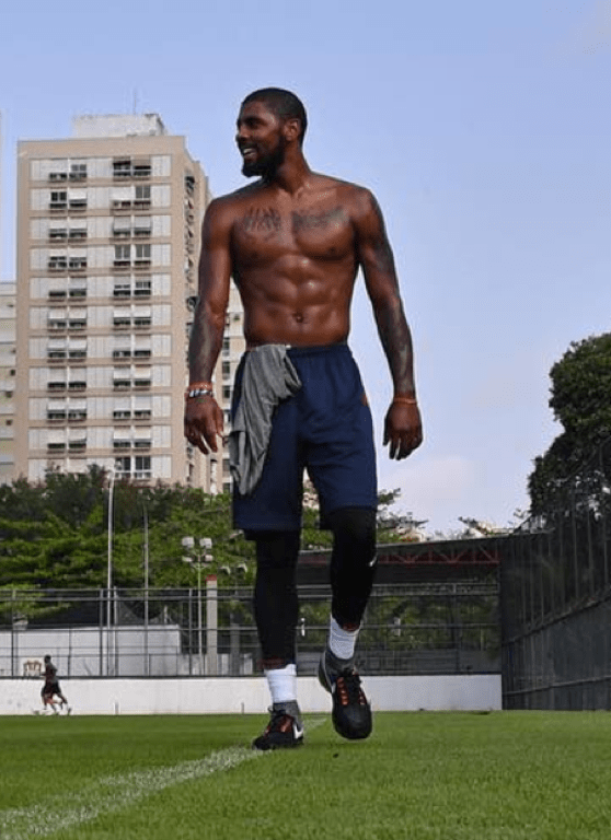 Kyrie Irvings Shirtless Shots Photo 1