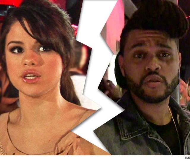 Selena Gomez And The Weeknd Arent Gonna Be Getting Cute Together In Public Anymore Cause Theyve Broken Up Tmz Has Learned