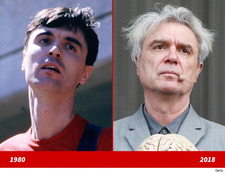 David Byrne  Good Genes Or Good Docs? Tmzcom