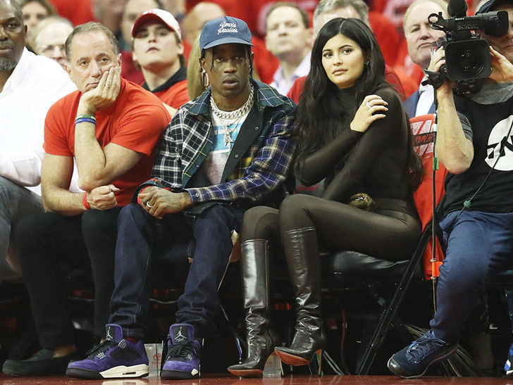 Kylie Jenner Amp Travis Scott Rooted For Khloes Ex BF At