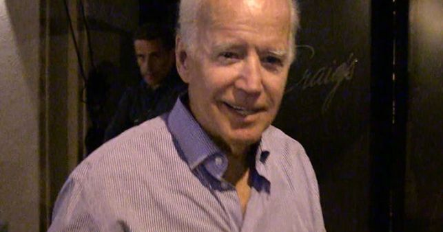 Joe Biden Stoked About Tiger Woods' Performance at The Open
