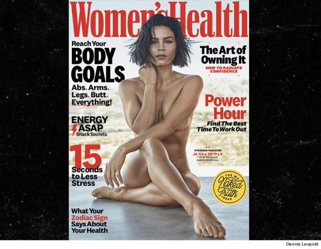 Jenna Dewan Goes Fully Nude for Women's Health