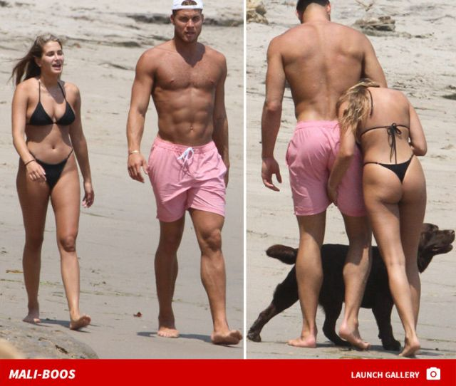 Blake Griffin And Gf Sex Up Malibu With Tiny Bikini And Ripped Abs