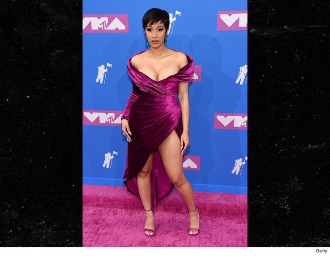 Cardi B Looks Incredible in First Public Event at VMAs and Shades Nicki Minaj