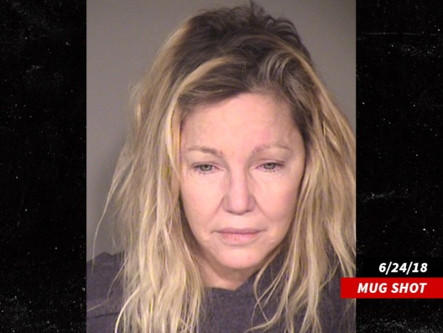Heather Locklear To Be Charged with Attacking Cop, EMT in June Altercation