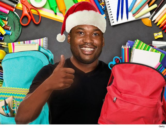 Meek Mill Donating 6,000 Backpacks to Philadelphia Kids