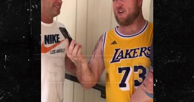 Dennis Rodman Calls Australian Fan Wearing His Lakers Jersey in Hawaii