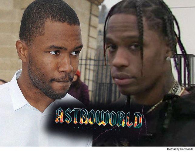 Frank Ocean and Travis Scott Beefing Over 'Astroworld' Collaboration