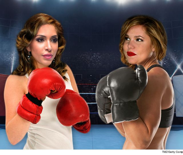 Teen Mom  Star Kailyn Lowrys Ready And Willing To Get In The Ring With Farrah Abraham And Open A Can Of Whoop Ass But Farrahs First Gotta Say Yes