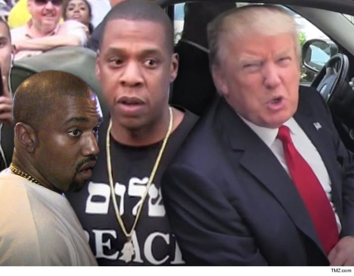 Jay-Z Takes Narrate Photos at Trump on Meek Mill Observe, Many Gain It is a Kanye Jab - TMZ