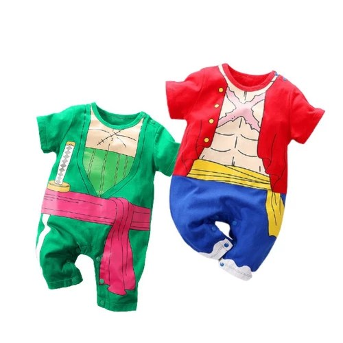 Kids', toddler, & baby clothes with monkey d luffy designs sold by independent artists. Jual Baju Romper Baby Jumper Anak Bayi Cowo Anime One Piece Luffy Zoro 3 6 Bulan Zoro Jakarta Barat The Secret Shop Tokopedia