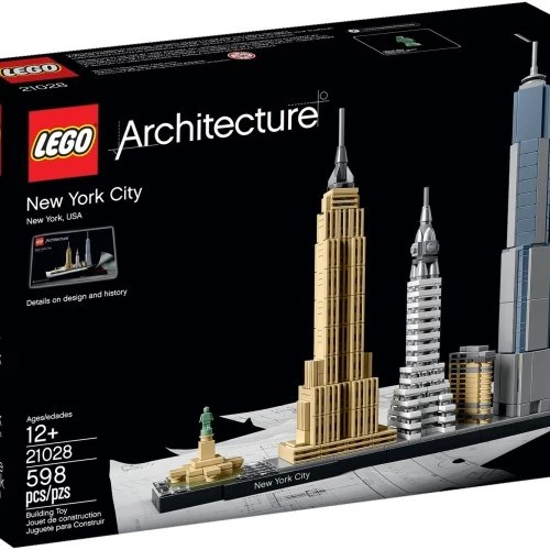 Jual Lego 21028 Architecture New York City Jakarta Utara Anugrahshop Com Tokopedia