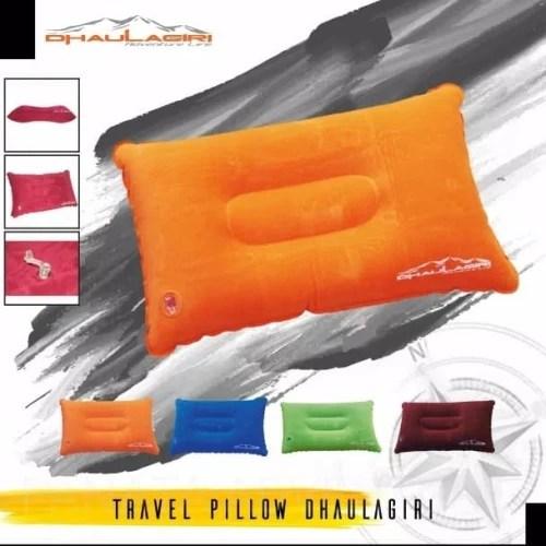 bantal tiup angin travel pillow dhaulagiri not consina eiger rei di demonteen outdoor cpd tokopedia