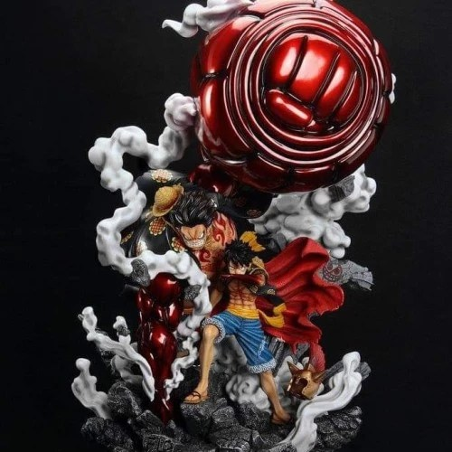 The tinted straw hat pirates logo in the frame makes this theme unique and cooler than other available themes. Jual F3 Luffy Gear 4 Statue Resin One Piece Jakarta Timur Kwaci Tokopedia