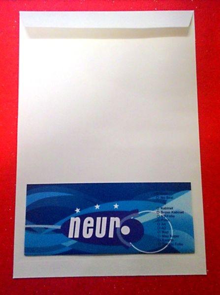Ukuran Amplop Besar : ukuran, amplop, besar, Neuro, Amplop, Putih, Ukuran, Folio,