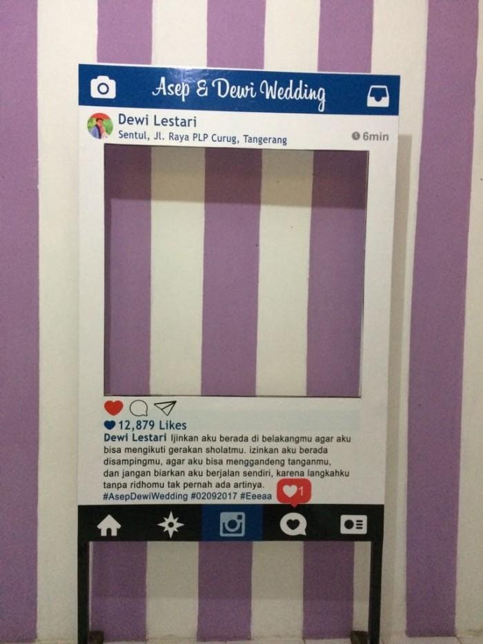 Cara Membuat Instagram Frame Photo Booth : membuat, instagram, frame, photo, booth, Frame, Instagram, Photo, Booth,, Facebook,, Props, 150x100, Tangerang, Event, Organizer, Tokopedia