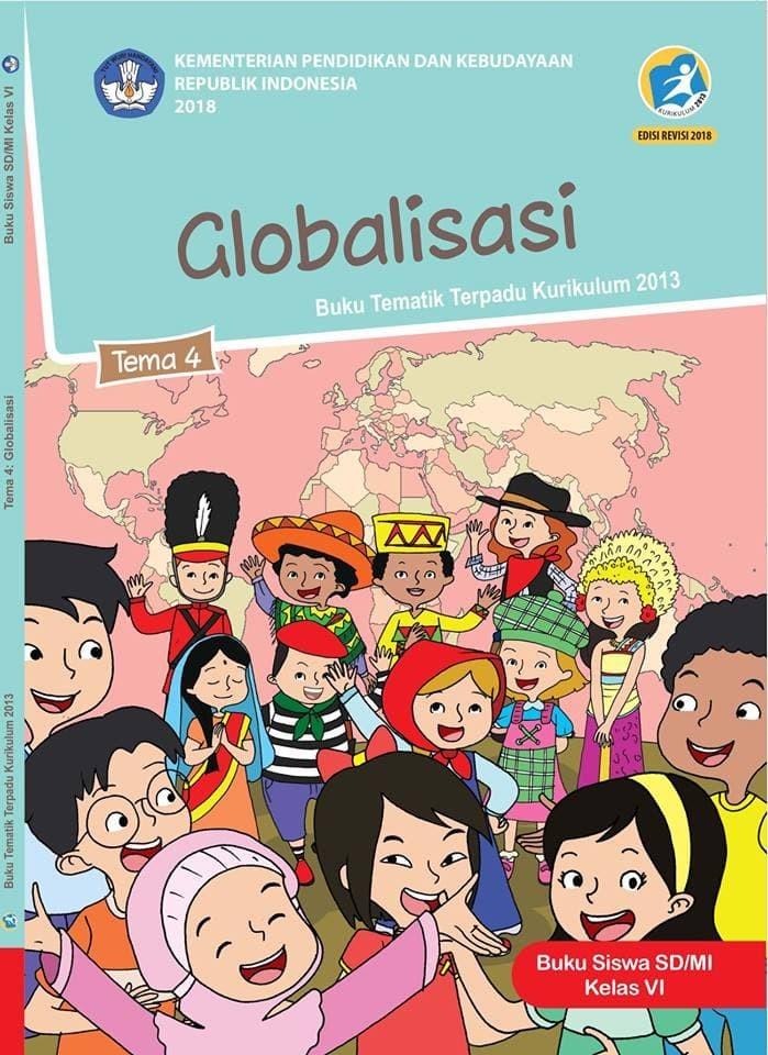 Soal Tema 4 Kelas 6 Globalisasi : kelas, globalisasi, Tematik, Kelas, Globalisasi, Depok, BumiMedia, Tokopedia