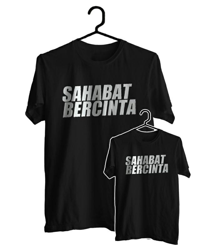 Baju Couple Sahabat : couple, sahabat, Couple, Sahabat, Bercinta, Murah, Babadan, WENDDV, SCREENPRINTING, Tokopedia