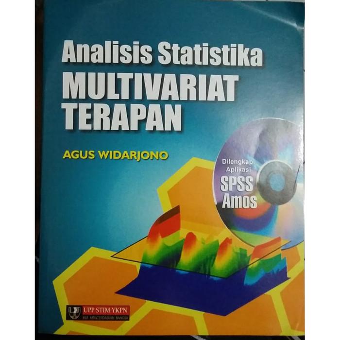 Pengantar metode statistika multivariat edisi kedua pengarang : Jual Analisis Statistika Multivariat Terapan Agus Widarjono Jakarta Timur Kitabook Tokopedia