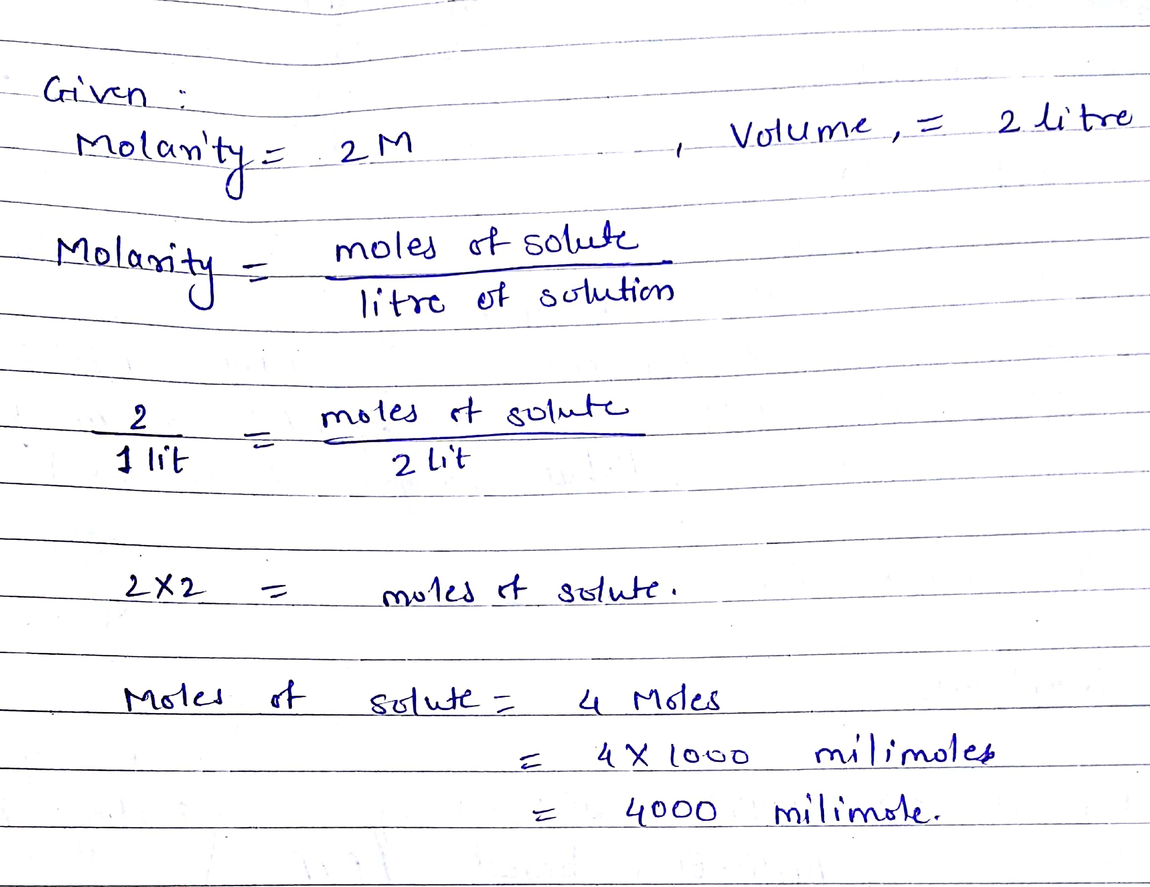 Molarity Calculations Worksheet Answers