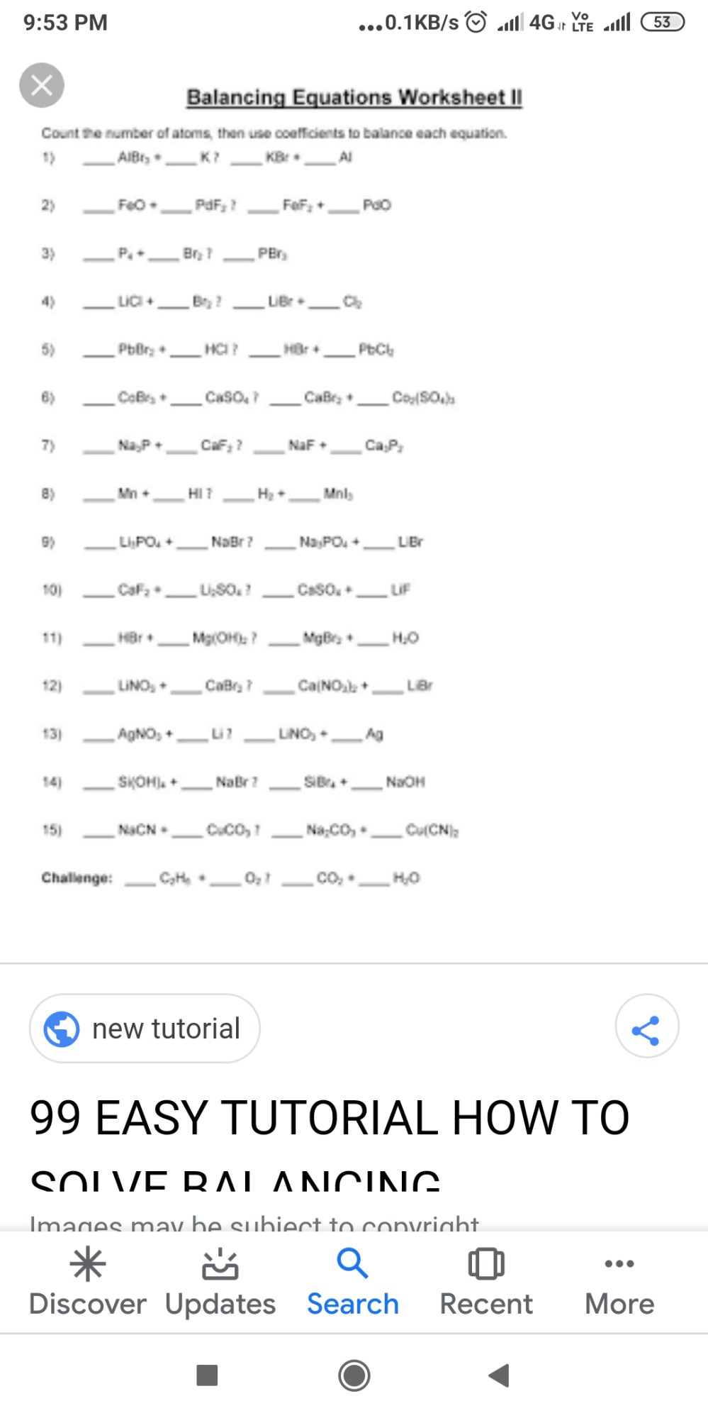 medium resolution of write the steps involved in a writing a chemical equations - Chemistry -  TopperLearning.com   rjk34mss