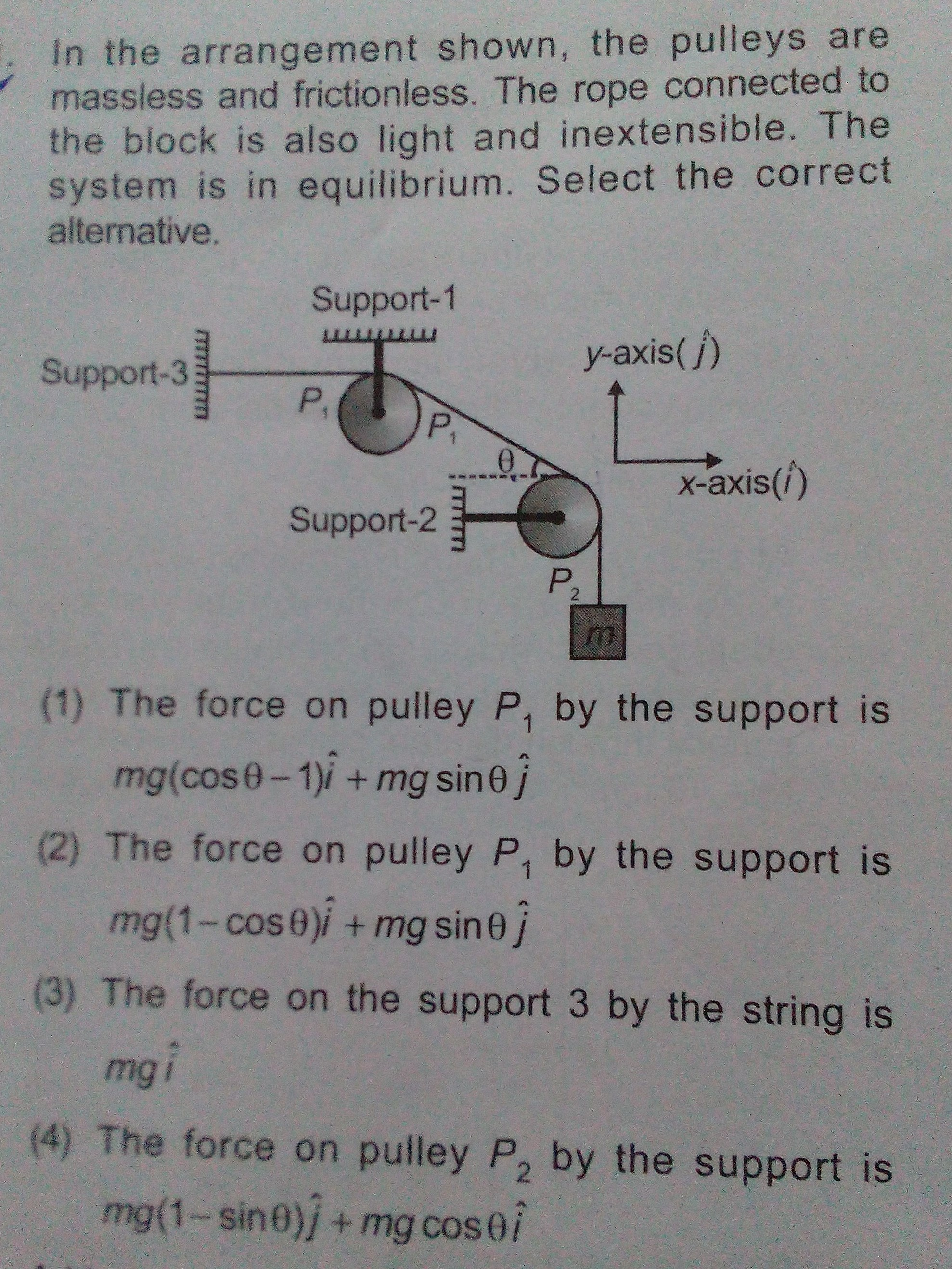 Pulley Questions And Answers